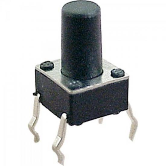 Chave Tact Switch Alarme 9,5mm GENÉRICO