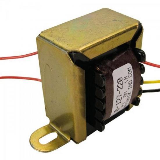 Transformador 9/800 9VAC 127/220VAC vertical 800mA HAYONIK