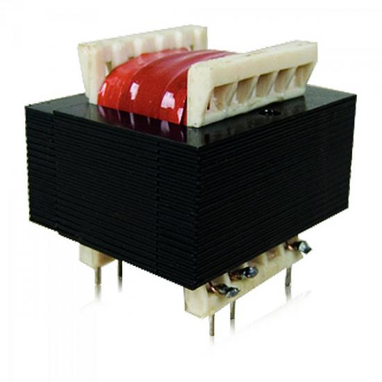 Transformador 6/100CI 6+6VAC 127/220VAC 100mA HAYONIK