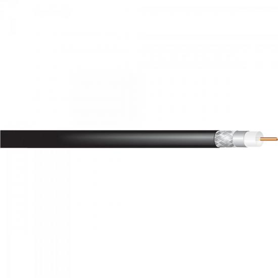 Cabo Coaxial RG58 75 PT CABLETECH