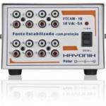 Fonte FTCAM-16 12VDC 5A Para Minicâmeras HAYONIK