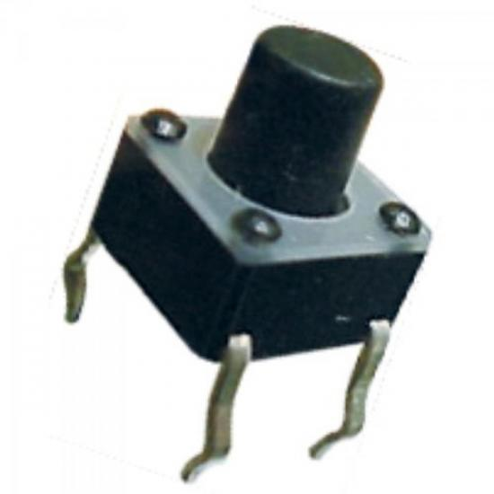 Chave Tact Switch Horizontal 7mm para Receptor de Satélite GENÉRICO
