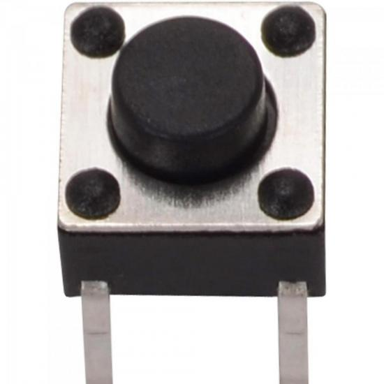 Chave Tact Switch Horizontal 5mm para Receptor de Satélite GENÉRICO