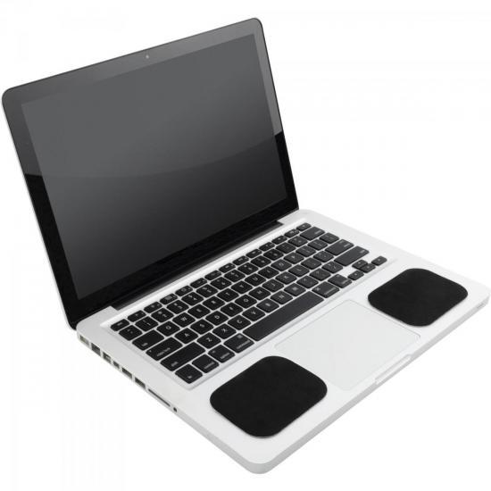 Apoio de Pulso para Notebook NTP-501 Preto FORTREK