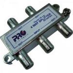 Divisor Satélite 1/4 5-2400 MHz PQDV-2024 PROELETRONIC