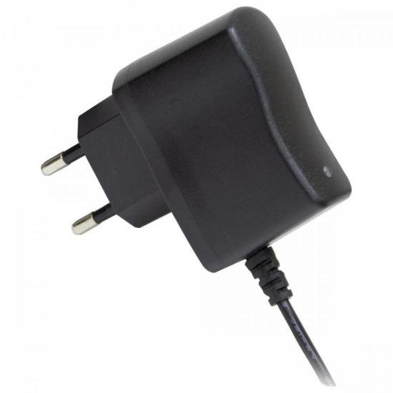 Fonte Chaveada 5VDC 1A 5W P4 C + 2,1mm FCTP5001 Bivolt HAYONIK