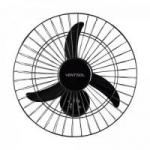 Ventilador de Parede 50cm 127V NEW PREMIUM Preto VENTISOL