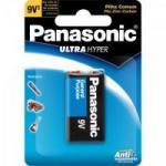 Bateria Zinco 9V 6F22UPT/1B Panasonic Caixa c/24 pilhas (cartela c/1)