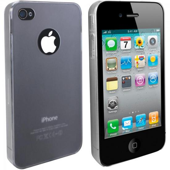 Capa de Acrílico para iPhone IC-101 Transparente FORTREK