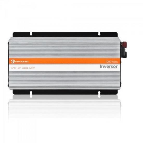 Inversor de Onda Modificada 12VDC/127V USB 1000W HAYONIK