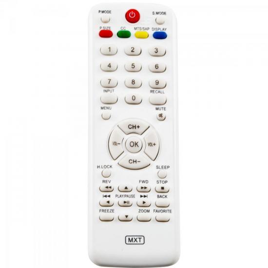 Controle Remoto para TV LCD BUSTER C01134 GENÉRICO