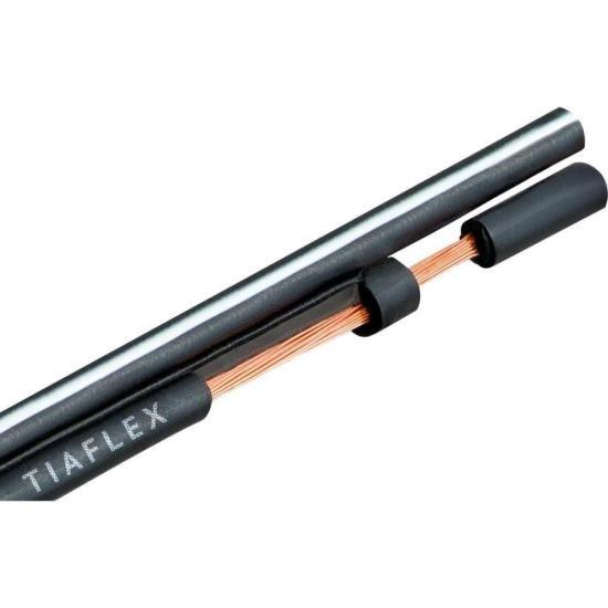 Fio Polar Ext 2x0,20mm 23 Preto TIAFLEX
