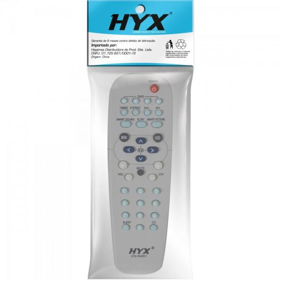 Controle Remoto para TV Philips CTV-PHP01 Branco HYX