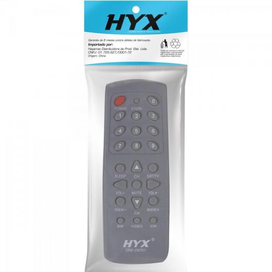 Controle Remoto para Receptor CENTURY SUPERCOLOR Cinza HYX