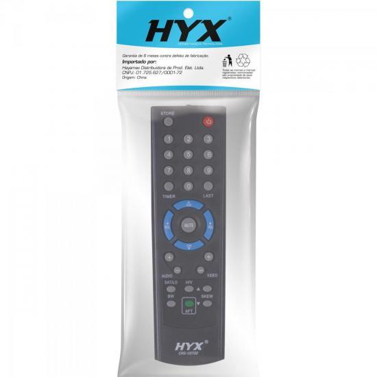 Controle Remoto para Receptor VT700/1000/2000 Preto HYX