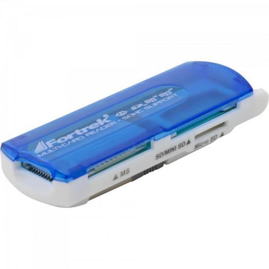 Leitor de Cartão de Memória USB 11 em 1 LDC-102 FORTREK
