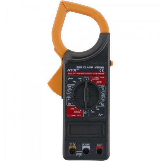 Alicate Amperímetro 266 Preto HYX