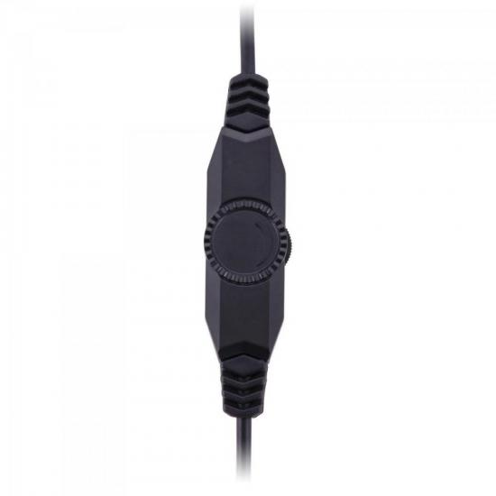 Headset Gamer PC/XBOX 360 SPIDER TARANTULA SHS-702 Preto/Vermelho FORTREK