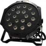 Refletor Ultra Light OCTOPUS com 18 Leds de 1W Bivolt RGB PLS