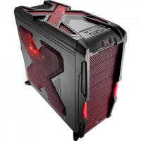 Gabinete Gamer STRIKE X ADVANCE EN58032 Vermelho AEROCOOL