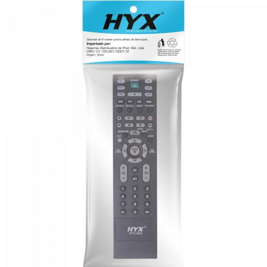 Controle Remoto para TV LCD LG CTV-LG03 HYX