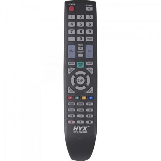 Controle Remoto para TV LCD SAMSUNG CTV-SMG04 Preto HYX
