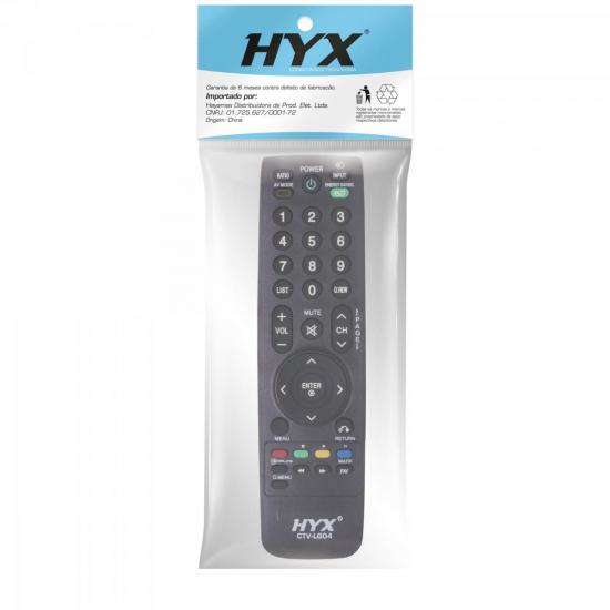 Controle Remoto para TV LCD LG CTV-LG04 HYX