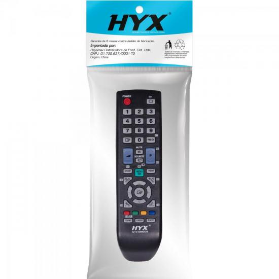 Controle Remoto para TV LCD SAMSUNG CTV-SMG09 HYX