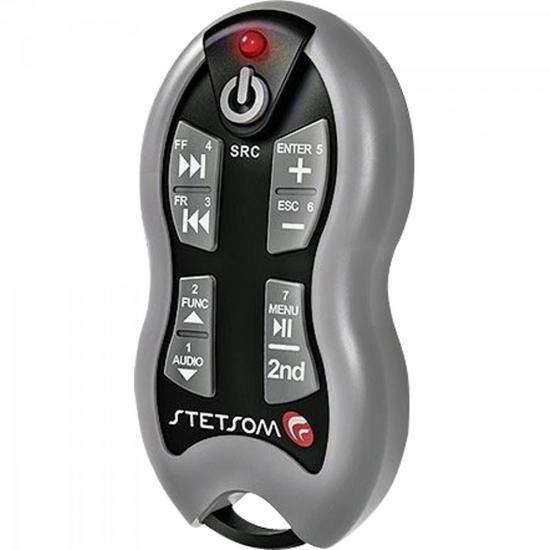 Controle Remoto Para Som Automotivo SX2 Grafite STETSOM