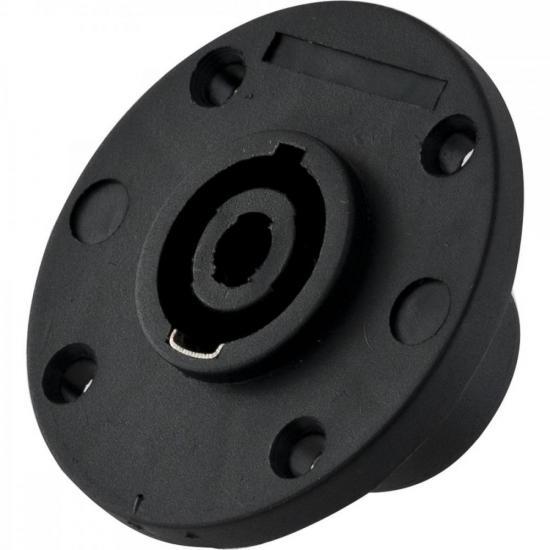 Conector Speakon Fêmea 4 Pólos HP017 HYX