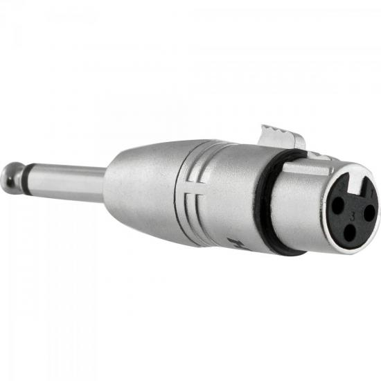 Adaptador XLR F x P10 M Mono HA014 HYX