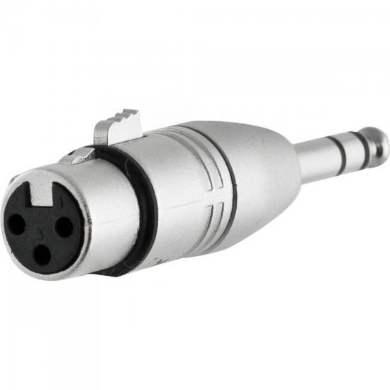 Adaptador XLR F x P10 M Estéreo HA016 HYX