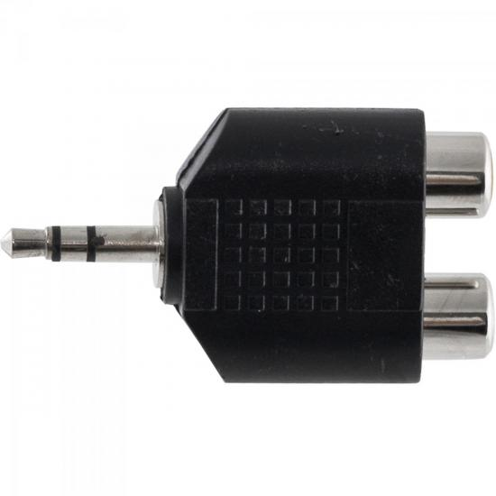 Adaptador 2RCA F x P2 M Estéreo HA044 HYX
