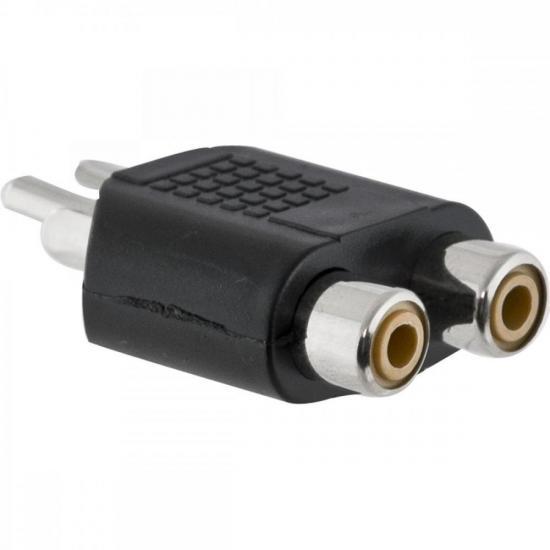 Adaptador 2RCA F x RCA M HA046 HYX