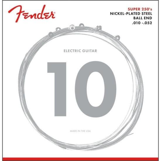 Encordoamento para Guitarra Aço .010 250RH Niquelado FENDER