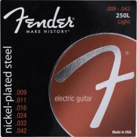 Encordoamento para Guitarra Aço 0.009 250L Niquelado FENDER