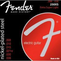 Encordoamento para Guitarra Aço .008 250XS Niquelado FENDER