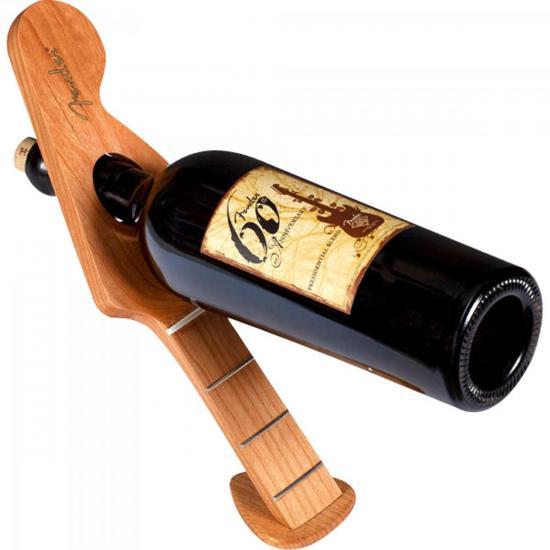Suporte para Vinho em Madeira Stratocaster FENDER