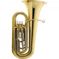 Tuba Bb 3/4 3 Pistos HBB-L332L Laqueada HARMONICS