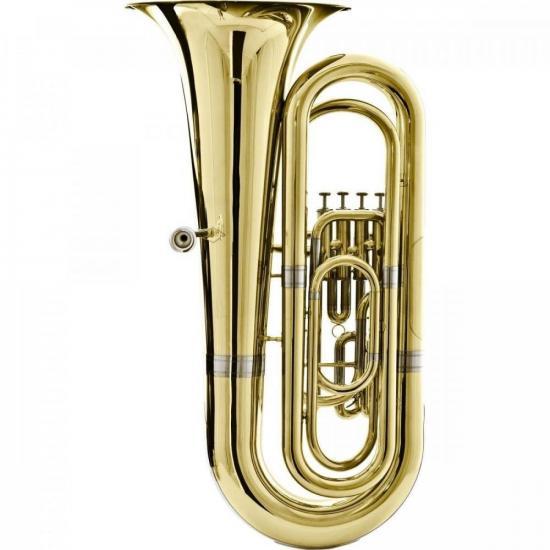Tuba Bb 4/4 4 Pistos HBB-534L Laqueada HARMONICS