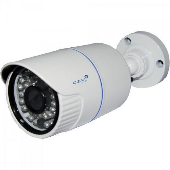 Câmera AHD Bullet IR 35m 3,6mm 720P AHD-36L Branca CLEAR