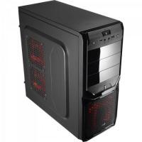 Gabinete Gamer Mid Tower V3X BLACK EDITION EN57417 Preto AEROCOOL