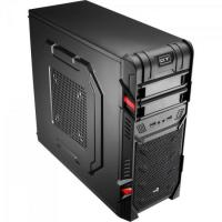 Gabinete Gamer Mid Tower GT BLACK EN52209 Preto AEROCOOL