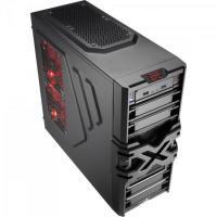 Gabinete Gamer Mid Tower STRIKE-X ONE ADVANCE EN58377 Preto AEROCOOL