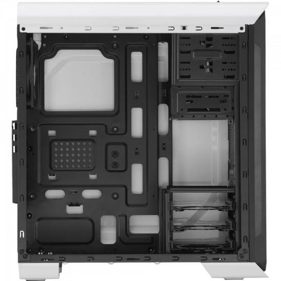 Gabinete Gamer Mid Tower AERO-500 WINDOW EN55583 Branco AEROCOOL