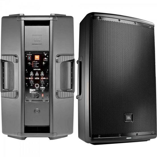 Caixa Acústica Ativa 500W EON615 Preta JBL