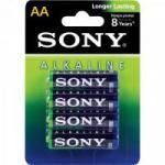 Pilha Alcalina AA AM3L-B4D Sony Caixa c/48 pilhas (cartela c/4)