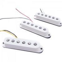 Set de Captadores Para Guitarra DELUXE DRIVE STRATOCASTER Branco FENDER