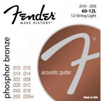 Encordoamento para Violão 12 Cordas Aço .010 60-12L Bronze Fosforoso FENDER