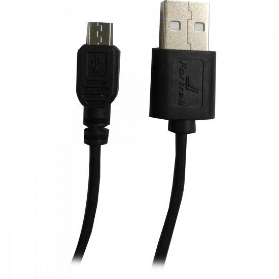 Cabo de Dados Micro USB 1,2m UMI-101/1.2BK Preto FORTREK